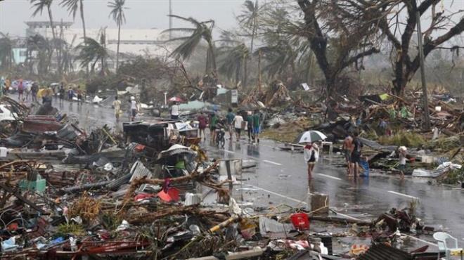 Diyanet Vakfı Filipinler de yaraları sarıyor