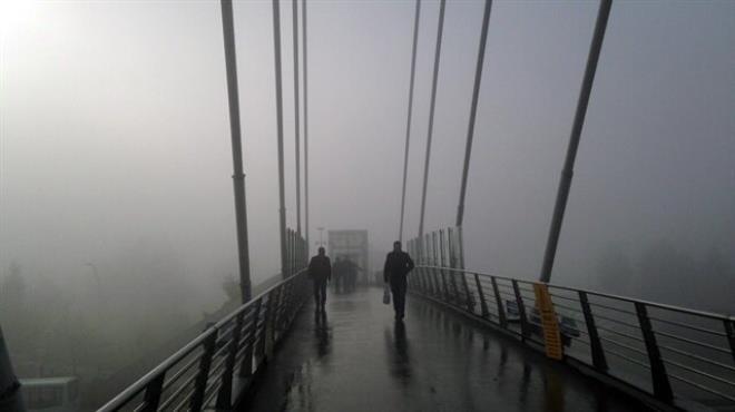 İzmit te deniz ulaşımına sis engeli