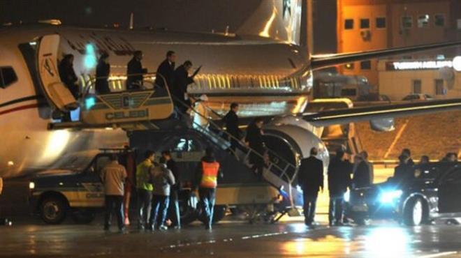 Fas Kralı 5 uçakla Türkiye ye geldi