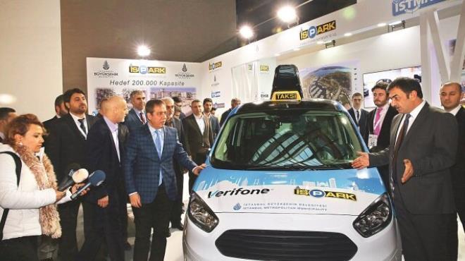 18 bin taksiye panik butonu