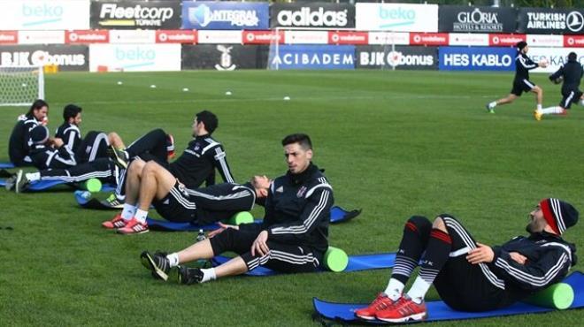 Beşiktaş kupa mesaisine başladı