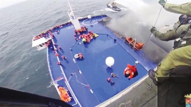 Denizde dehşet