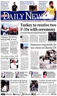 HÜRRİYET DAİLY NEWS - 21 Haziran 2018