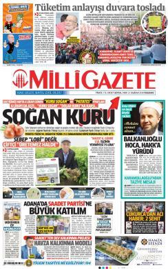 MİLLİ GAZETE - 21 Haziran 2018