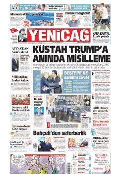 Türkiye'de Yeni Çağ - 16 Ağustos 2018