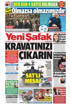 YENİ ŞAFAK - 16 Eylül 2018