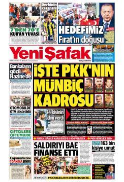 YENİ ŞAFAK - 25 Eylül 2018