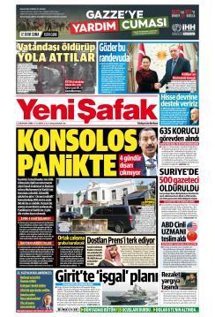 YENİ ŞAFAK - 12 Ekim 2018