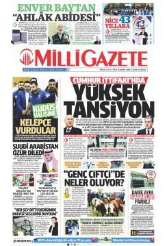 MİLLİ GAZETE - 23 Ekim 2018