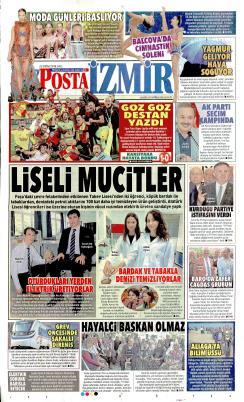 POSTA İZMİR EGE - 23 Ekim 2018