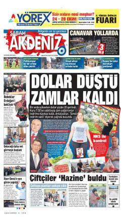 SABAH ANTALYA AKDENİZ - 23 Ekim 2018