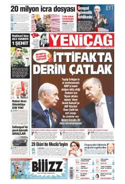 Türkiye'de Yeni Çağ - 23 Ekim 2018