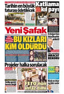 YENİ ŞAFAK - 02 Kasım 2018