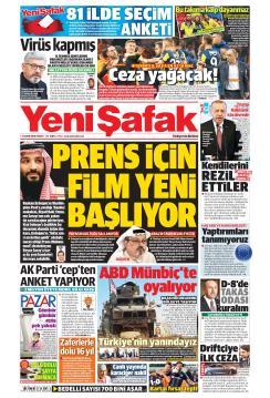 YENİ ŞAFAK - 04 Kasım 2018
