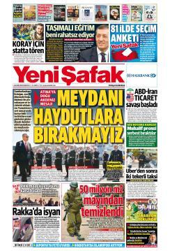 YENİ ŞAFAK - 05 Kasım 2018