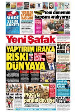 YENİ ŞAFAK - 06 Kasım 2018