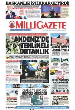 MİLLİ GAZETE - 08 Kasım 2018