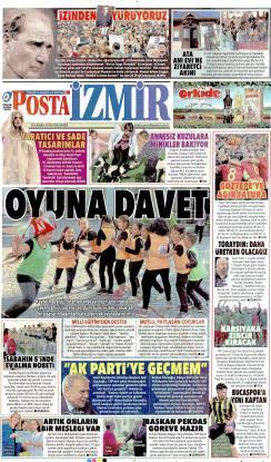 POSTA İZMİR EGE - 08 Kasım 2018