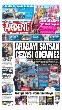SABAH ANTALYA AKDENİZ - 08 Kasım 2018