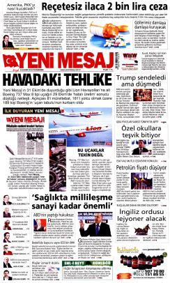 YENİ MESAJ - 08 Kasım 2018