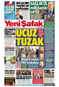 YENİ ŞAFAK - 08 Kasım 2018