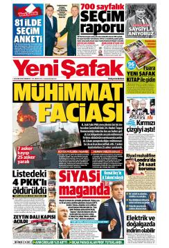YENİ ŞAFAK - 10 Kasım 2018