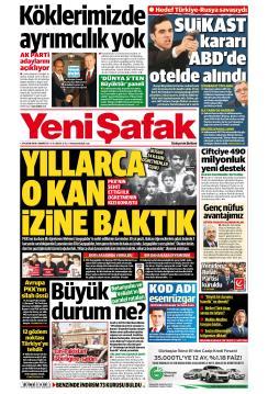 YENİ ŞAFAK - 24 Kasım 2018