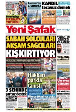 YENİ ŞAFAK - 26 Kasım 2018