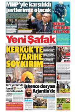 YENİ ŞAFAK - 28 Kasım 2018