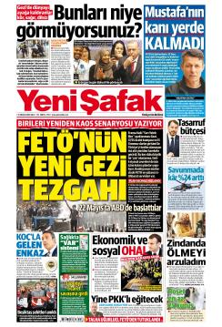 YENİ ŞAFAK - 11 Aralık 2018