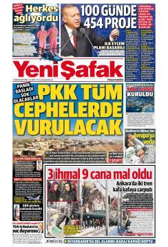 YENİ ŞAFAK - 14 Aralık 2018