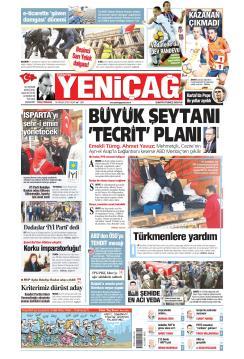 Türkiye'de Yeni Çağ - 16 Aralık 2018