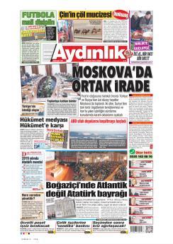 AYDINLIK - 30 Aralık 2018