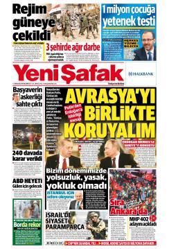 YENİ ŞAFAK - 31 Aralık 2018