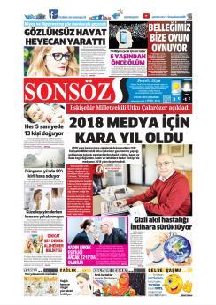 SONSÖZ - 02 Ocak 2019