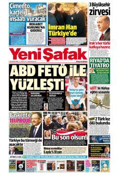 YENİ ŞAFAK - 04 Ocak 2019