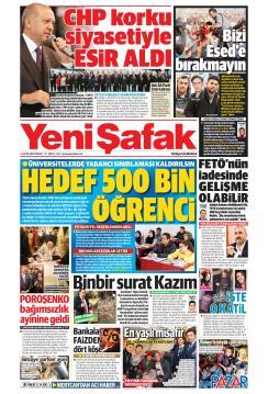 YENİ ŞAFAK - 06 Ocak 2019