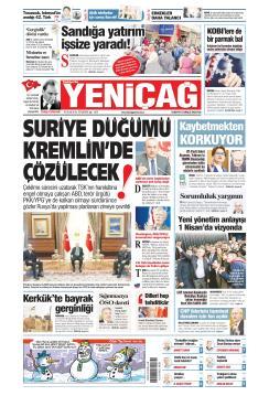 Türkiye'de Yeni Çağ - 10 Ocak 2019