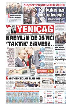 Türkiye'de Yeni Çağ gazetesi