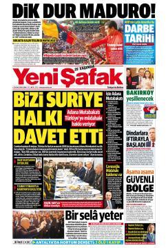 YENİ ŞAFAK - 25 Ocak 2019