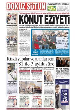Dokuz Sütun gazetesi