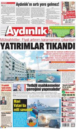 AYDINLIK - 01 Mart 2019