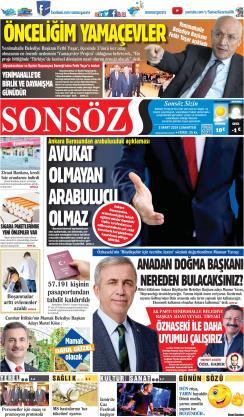 SONSÖZ - 02 Mart 2019
