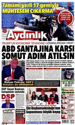 AYDINLIK - 06 Mart 2019