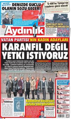 AYDINLIK - 08 Mart 2019