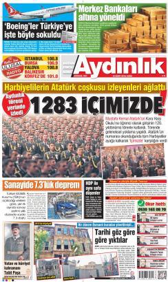 AYDINLIK - 15 Mart 2019