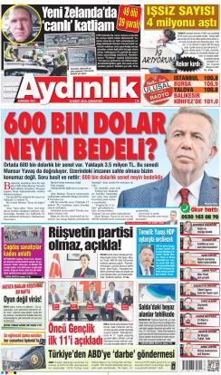 AYDINLIK - 16 Mart 2019