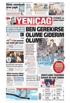Türkiye'de Yeni Çağ - 30 Mart 2019