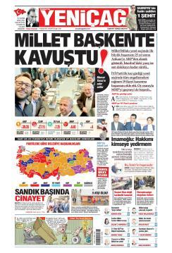 Türkiye'de Yeni Çağ - 01 Nisan 2019