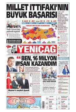 Türkiye'de Yeni Çağ - 02 Nisan 2019